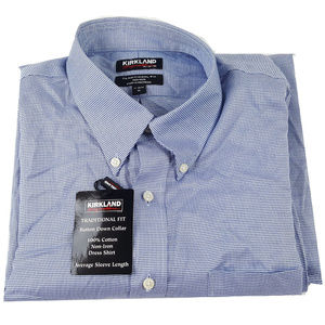Kirkland Signature Traditional Fit Dress Shirt